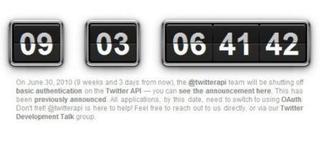 Twitter sólo permitirá acceso a la API mediante OAuth