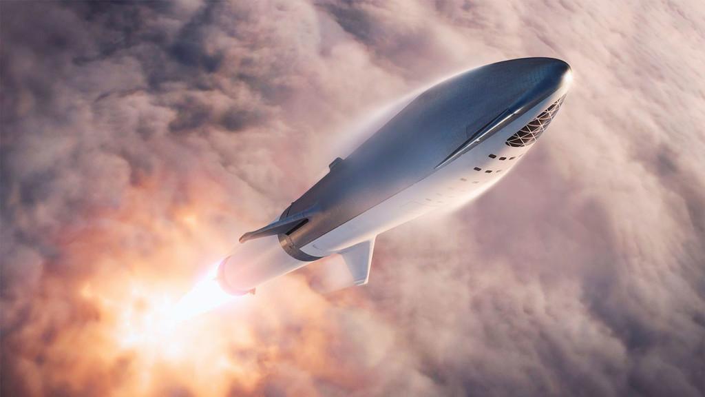 Elon Musk hace gala de su cohete Starship (el antes conocido como