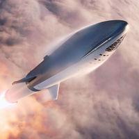 El Starship es una realidad: así luce el cohete de pruebas de SpaceX cuya futura misión es la llegada a Marte
