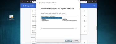 Cómo importar y exportar el certificado digital en Chrome