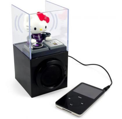 Hello Kitty DJ, un altavoz para tu iPod