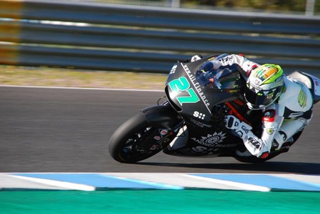 Iker Lecuona Valencia Moto2 2018
