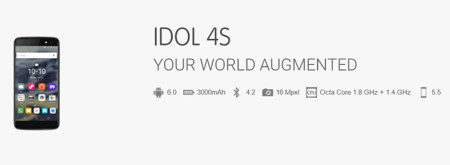 Alcatel Onetouch Idol 4s