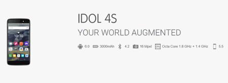 Alcatel Onetouch Idol 4s