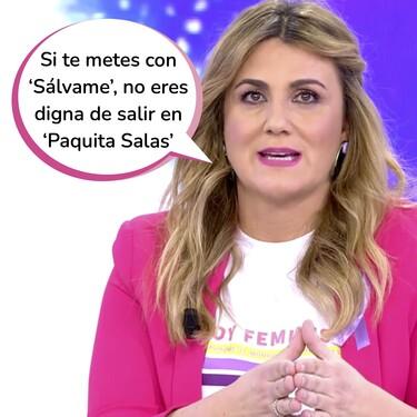La magistral respuesta de Carlota Corredera y Belén Esteban a las feas acusaciones de Paula Usero ('Luimelia') contra 'Sálvame'