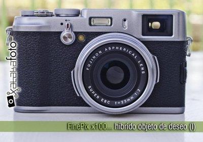 FinePix x100: híbrido objeto de deseo (I)