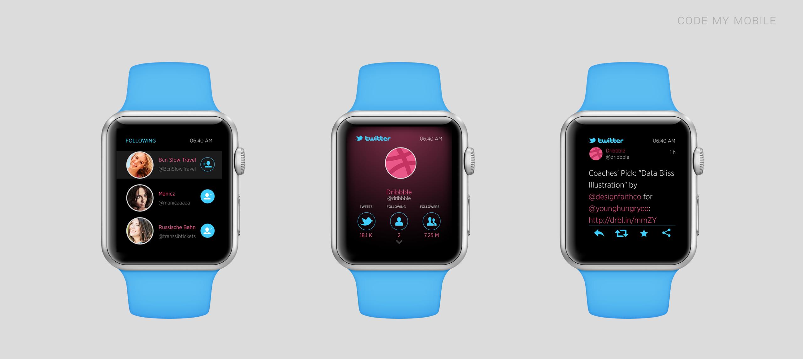 Foto de Así pueden ser algunas aplicaciones en el Apple Watch (1/13)