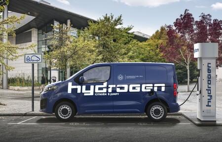 La nueva Citroën ë-Jumpy ahora funciona con hidrógeno y además se puede enchufar para tener más autonomía