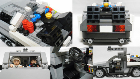 DeLorean DMC-12, Regreso al Futuro, LEGO
