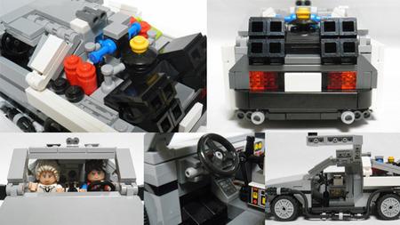 DeLorean DMC-12, Regreso al Futuro, LEGO