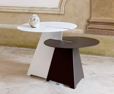Mesas encajables Abra de acero