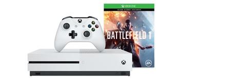 Pack Xbox One S 500GB + Battlefield 1 por 239,99 euros y envío gratis