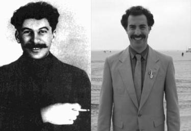 Separados al nacer (XI): Stalin Vs Borat