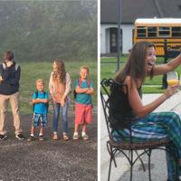 ¿Y si los niños saltaran de alegría en septiembre por perder por fin de vista a sus padres?