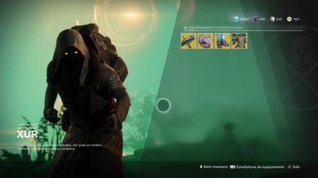 Destiny 2: ubicación de Xur y equipamiento (del 13 al 17 de octubre)