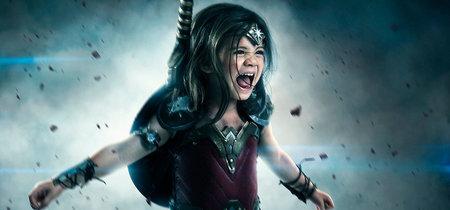 Este fotógrafo tiene el superpoder de transformar a su hija de tres años en Wonder Woman