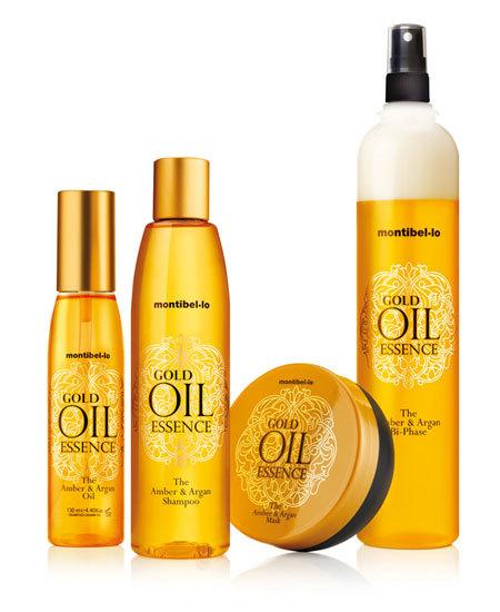 Aceites de Argán y Ambar para tu cabello, nueva gama capilar Gold Oil Essence de Montibello