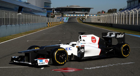 Sauber presentará su C32 el 2 de febrero
