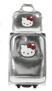 Bolsa de viaje, troller y complementos 'Hello Kitty' 2008