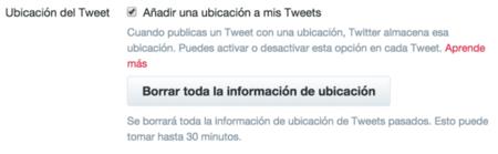 Twitter Ubicacion