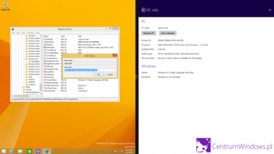 Se filtra una captura de Windows 8.1 con Bing