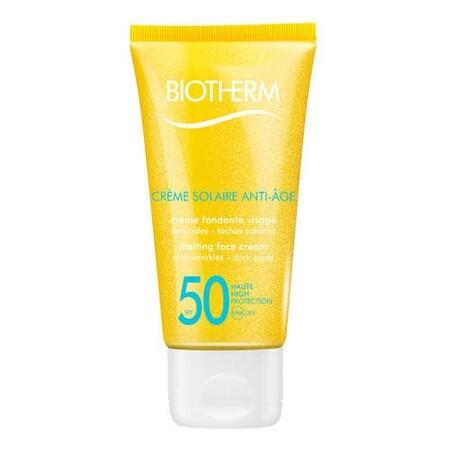 Biotherm Creme Solaire Anti Age Visage Crema Solar Antiedad Rostro Spf50