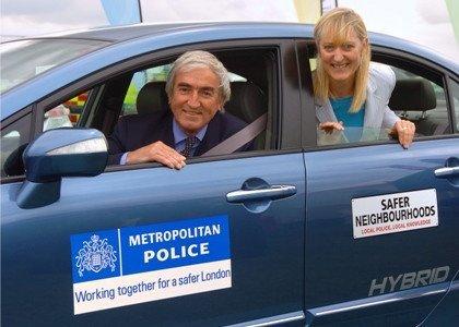 La policía inglesa se apunta a los híbridos