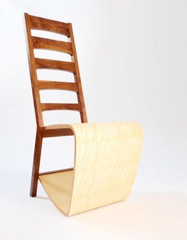 Mezcla de estilos moderno y clásico en la silla de Lury