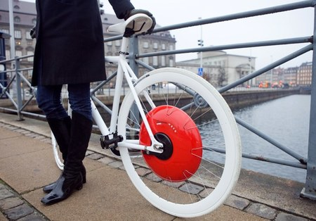 Copenhaguen Wheel de SENSEable City Lab, convierte tu bici en híbrida