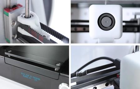 Algunos detalles de la impresora Migo