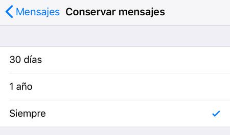 Ios Conservar Mensajes Icloud