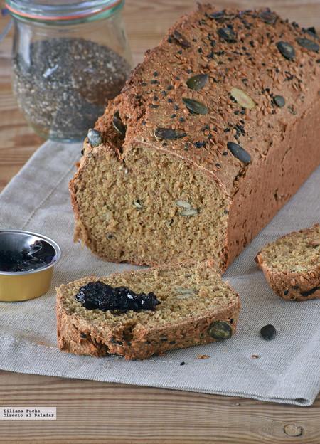 Pan rápido con semillas