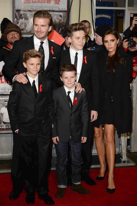David Y Victoria Beckham 20 Aniversario Boda 2013