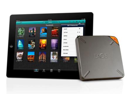 LaCie FUEL es un disco duro inalámbrico para tu tablet