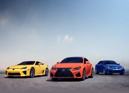 Lexus F cumple 10 años de diseño y gloriosos motores atmosféricos