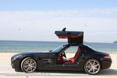 Dolorpasión™: ¿queréis ver un Mercedes SLS AMG <em>Black Series</em> a la parrilla?