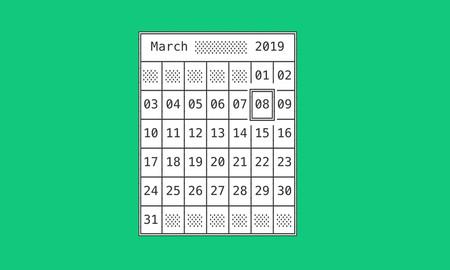 Organiza tus tareas creando una plantilla de calendario que puedes imprimir y ajustar a tus necesidades