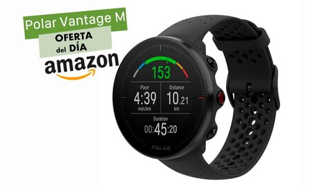 Sólo hoy, Amazon te deja el reloj deportivo Polar Vantage M a su precio más bajo hasta la fecha: lo tienes por sólo 174,95 euros