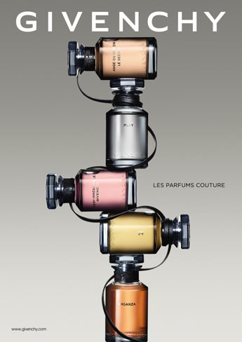 Les parfums Couture de Givenchy: leather, lace and luxury!