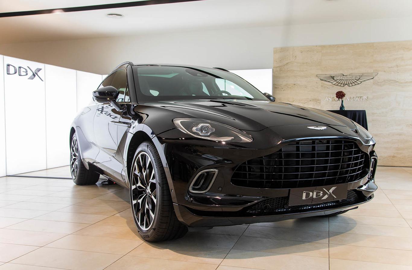 Así Es El Suv Aston Martin Dbx Al Natural Una Decidida Apuesta Por El Lujo Y La Deportividad