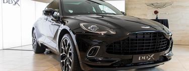 Así es el SUV Aston Martin DBX al natural: una decidida apuesta por el lujo y la deportividad