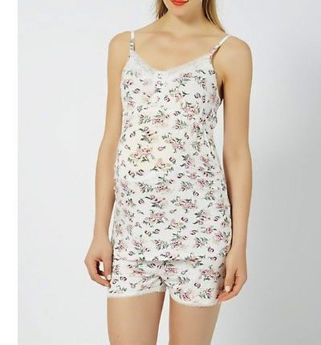 pijama corto premamá new look verano 2014