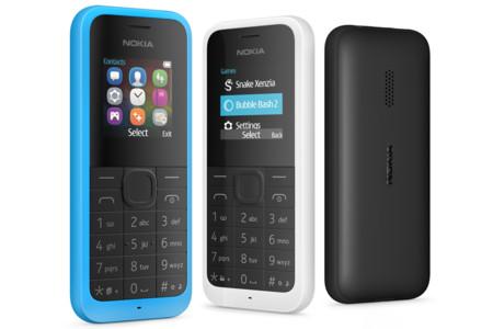 Microsoft anuncia una nueva versión del Nokia 105
