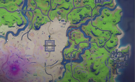 Mapa Estatuas Fortnite