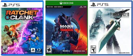 Aparta videojuegos de Xbox, PS5 y Nintendo Switch en Amazon México