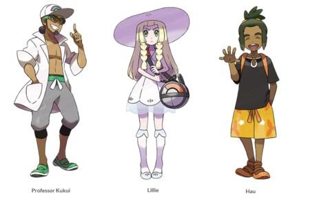 Nuevos Personajes Sun Moon