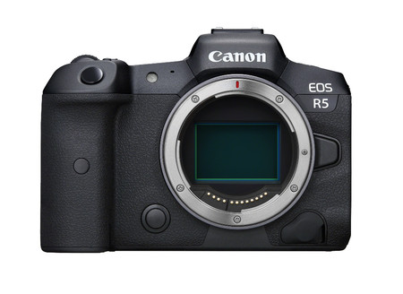 Eos R5 Front Body Square
