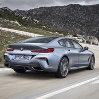 El BMW Serie 8 Gran Coupé es una lujosa berlina con 4+1 plazas y motores de seis y ocho cilindros