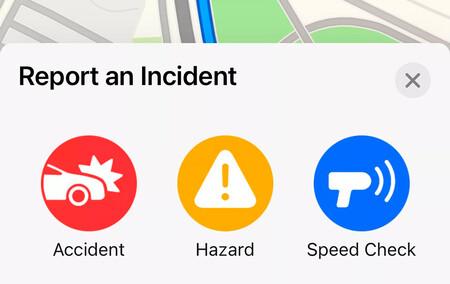 Apple Maps comienza a incluir avisos de radares y accidentes en ruta
