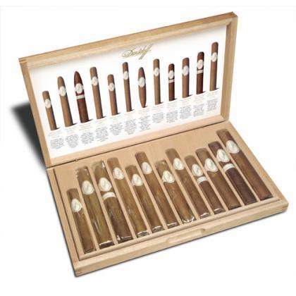 Caja surtida de Davidoff, un regalo ideal para el amante de los puros